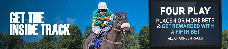 Horse racing bonus worth £10.00 from BetVictor