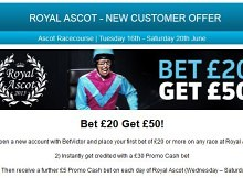 Royal Ascot 2015 offers