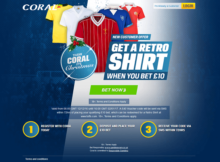 Coral bookmakers Christmas promotion 2016