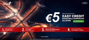 TipBet Sports €5 free bet